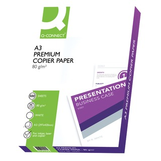 White A3 80gsm Premier Copier Paper (500 Pack)