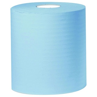 Blue 2-Ply Centrefeed Roll 150 Metres (6 Pack)