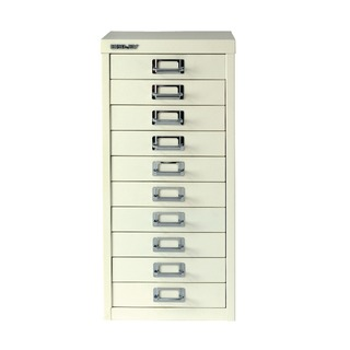 Multi-Drawer Cabinet A4 10 Drawer Chalk White