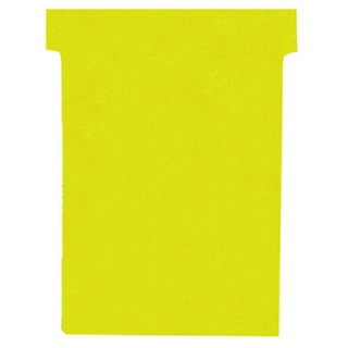 Size 3 Yellow T-Card (100 Pack) 32