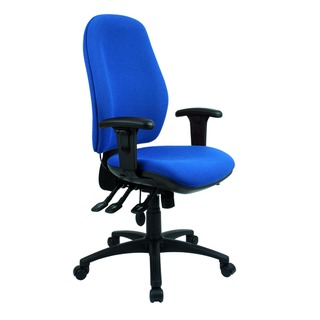 Radial High Back Posture Blue Chair