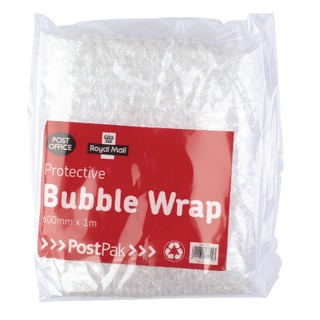 Postpak Protective Bubble Wrap Flat Sheet 600mm x 1m (8 Pack) 37728