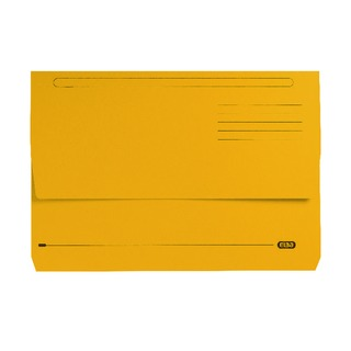 StrongLine Foolscap Document Wallet Yellow (25 Pack) 100090141