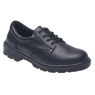 Briggs Industrial Toesavers S1P Black Safety Shoe Size 4 2414BK04