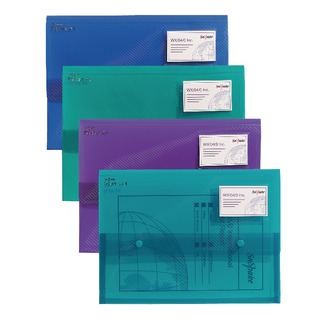 PolyPlus A4 Electra Assorted Wallet (5 Pack)