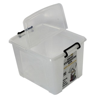 Clear Smart Storage Box 40 Litre HW67