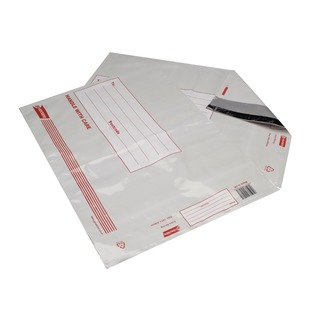 Secure Extra Strong Polythene Envelopes 345x430mm (25 Pack)