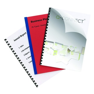 Clear A4 PVC Binding Covers 250 Micron (100 Pack)