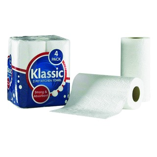 Klassic Kitchen Roll White 110509