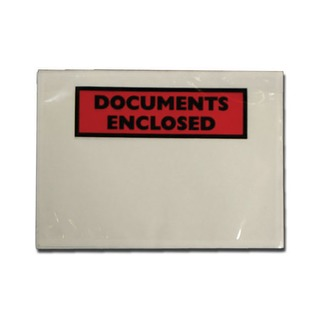 Documents Enclosed Self-Adhesive A6 Document Envelopes (Pk 100 Pack) 9743DEE02