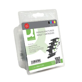 Brother LC1240 Ink Cartridge Rainbow Pack KCMY (4 Pack) LC1240-COMP