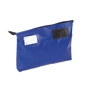 Secure Blue 470x336x76mm Mail Pouch GP2B