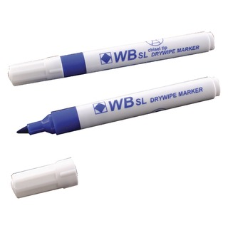 Blue Whiteboard Markers Chisel Tip (10 Pack)