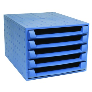 Blue 5-Drawer Set 221101D