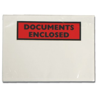 Documents Enclosed Self-Adhesive A6 Document Envelopes (Pk 1000 Pack) 4302002