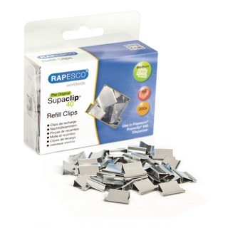 Supaclip 40 Clips Refill Stainless Steel (200 Pack) CP20040S