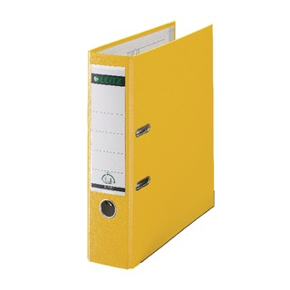 180° Polypropylene A4 80mm Yellow Lever Arch File (10 Pack)