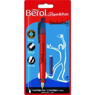 Blue Handwriting Pen With 2 Cartridges S0953460