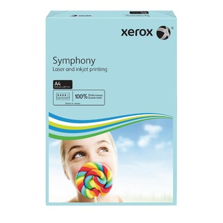 Symphony Mid-Blue A4 80gsm Paper (500 Pack)