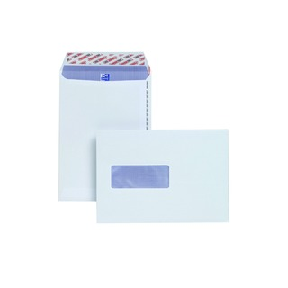 C5 Window Envelope 110gsm Peel and Seal White (500 Pack)
