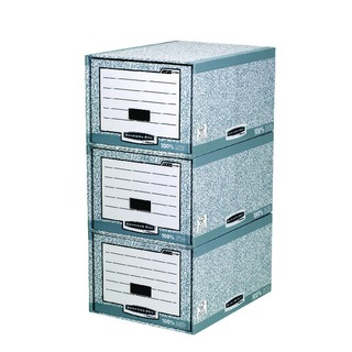 Bankers Box System Storage Drawer Grey and White (5 Pack) 01820