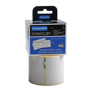 Compatible DYMO Shipping Label 54 x 101mm (220 Pack)