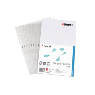 A4 Clear Budget Pocket (100 Pack)