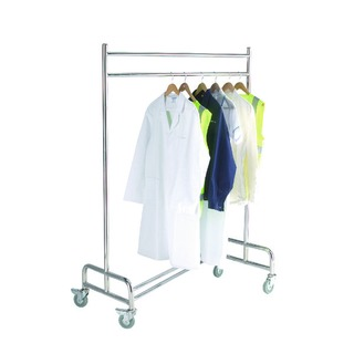 Cloakroom Trolley Stainless Steel Chrome 31