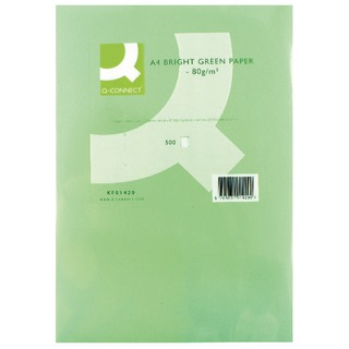 Bright Green Copier A4 Paper 80gsm (500 Pack)