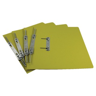 Jiffex Yellow Foolscap Transfer File (50 Pack) 43219EAST