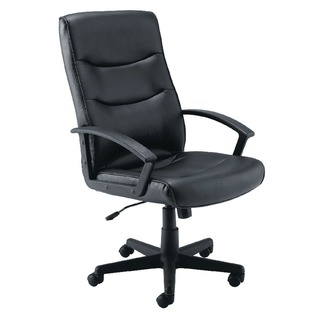 Hudson Leather Look Manager Chair