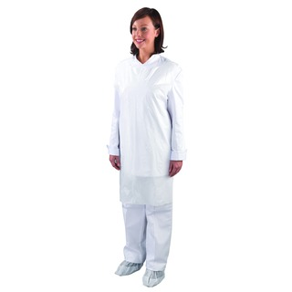 White Disposable Aprons in Dispenser (1000 Pack) A2/W