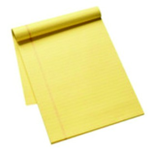 Yellow Executive A4 Pads (10 Pack)