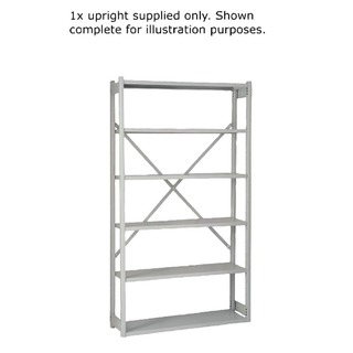 Shelving W1000xD300mm Grey Extension Kit 1018ESEXK30-AT