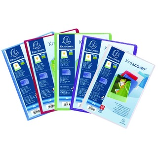 Kreacover Display Book 20 Pocket Assorted Pack of 20 5729E