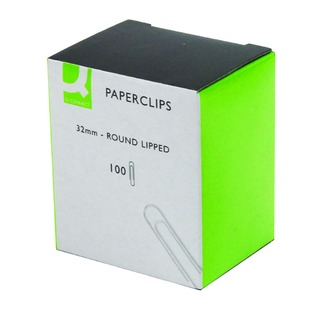 32mm Lipped Paperclip (1000 Pack)
