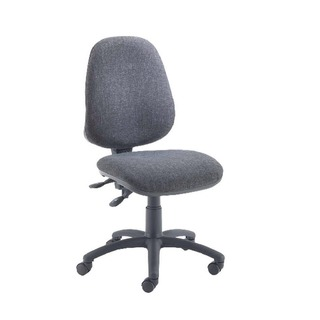 High Back Operators Chair Charcoal