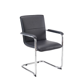 Jemini Leather Look Visitor Chair
