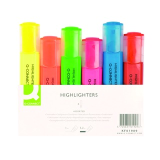 Assorted Highlighter Pens (6 Pack)
