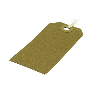 82x41mm Strung Tag (1000 Pack)