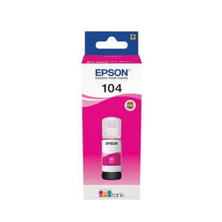 104 EcoTank Magenta Ink Bottle C13T00P340