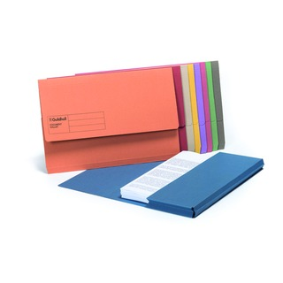 Foolscap Assorted Document Wallets (50 Pack) GDW1-AST