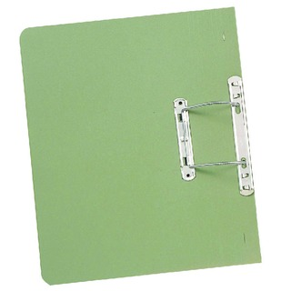 Green Foolscap Heavyweight Spiral File (25 Pack) 211/7