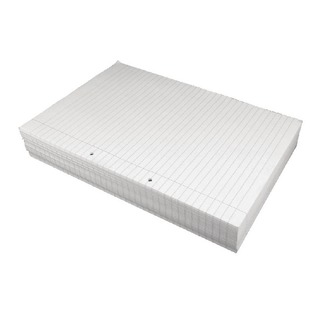 White A4 75gsm Ruled Paper (Box of 2500 Sheets)