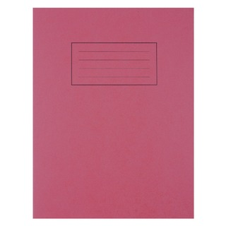 Feint Ruled With Margin Red 229x178mm Exercise Book 80 Pages (10 Pack) EX101