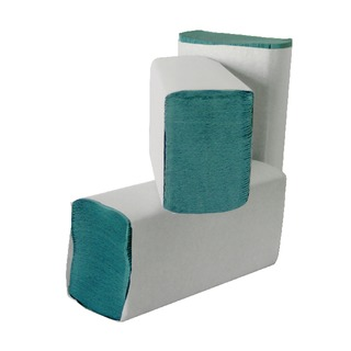 M Fold 1-Ply Green Hand Towel (3000 Pack) HMG13