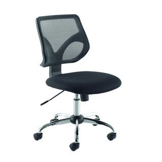 Medium Back Task Black Chair