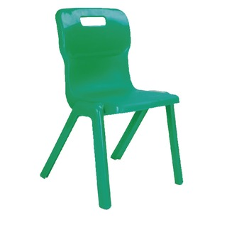1 Piece 380mm Green Chair (10 Pack)