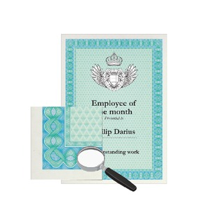 Certificate A4 Paper 115gsm Turquoise/Blue (70 Pack) DSD105