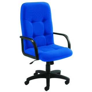 High Back Royal Blue Manager Chair
